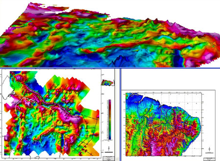 Geophysics Maps